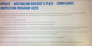 Vic and Qld checking for incorrect information on boat build plates